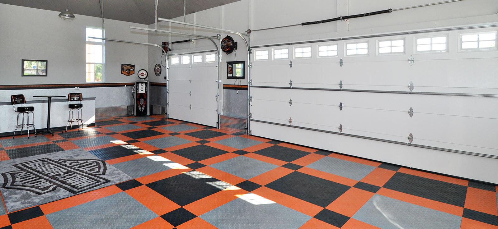 Harley Davidson Garage Flooring in dimensions 1600 X 737