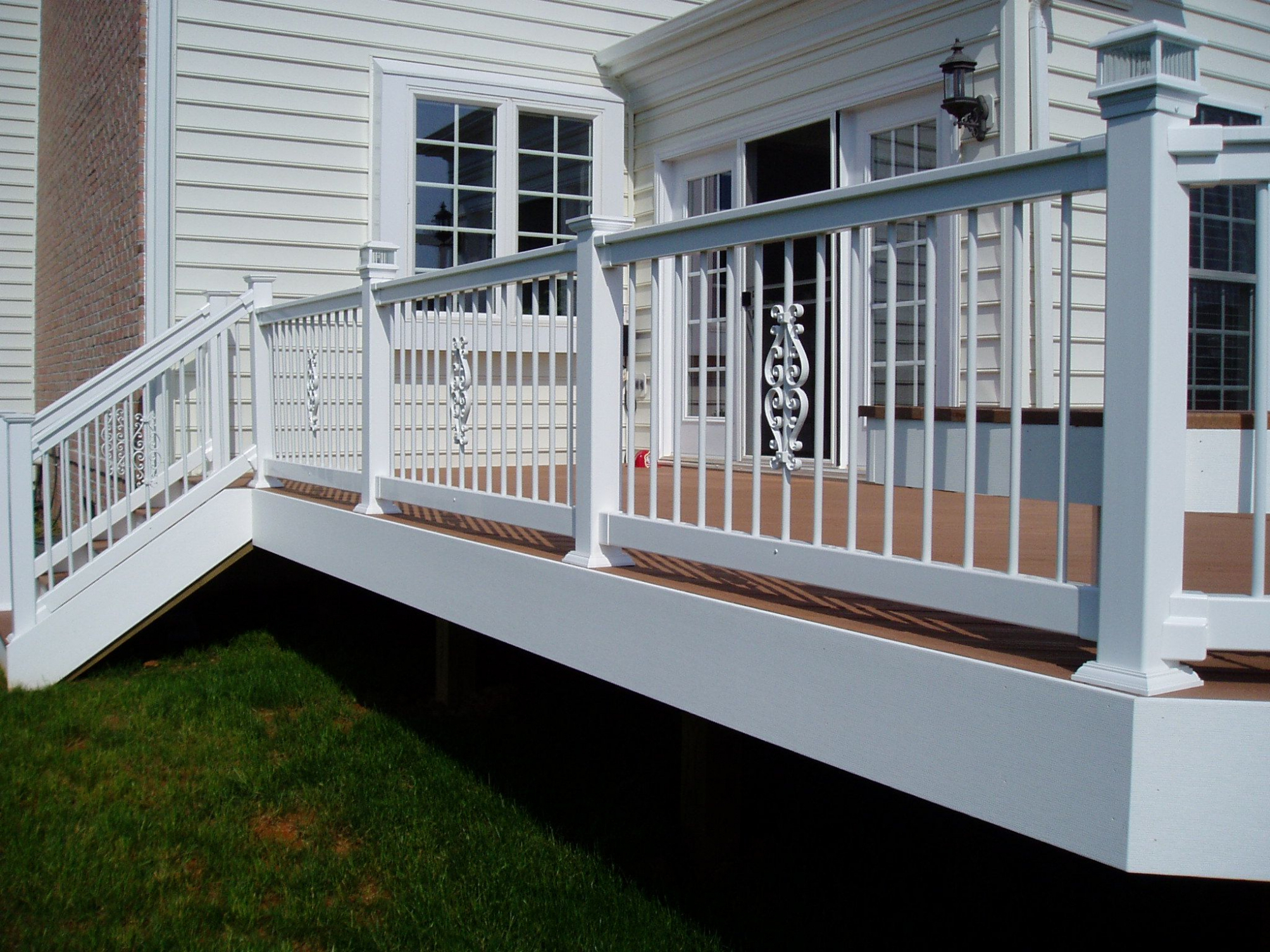 Height Of Deck Without Railing And Veranda Deck Railing Height inside measurements 2007 X 1505