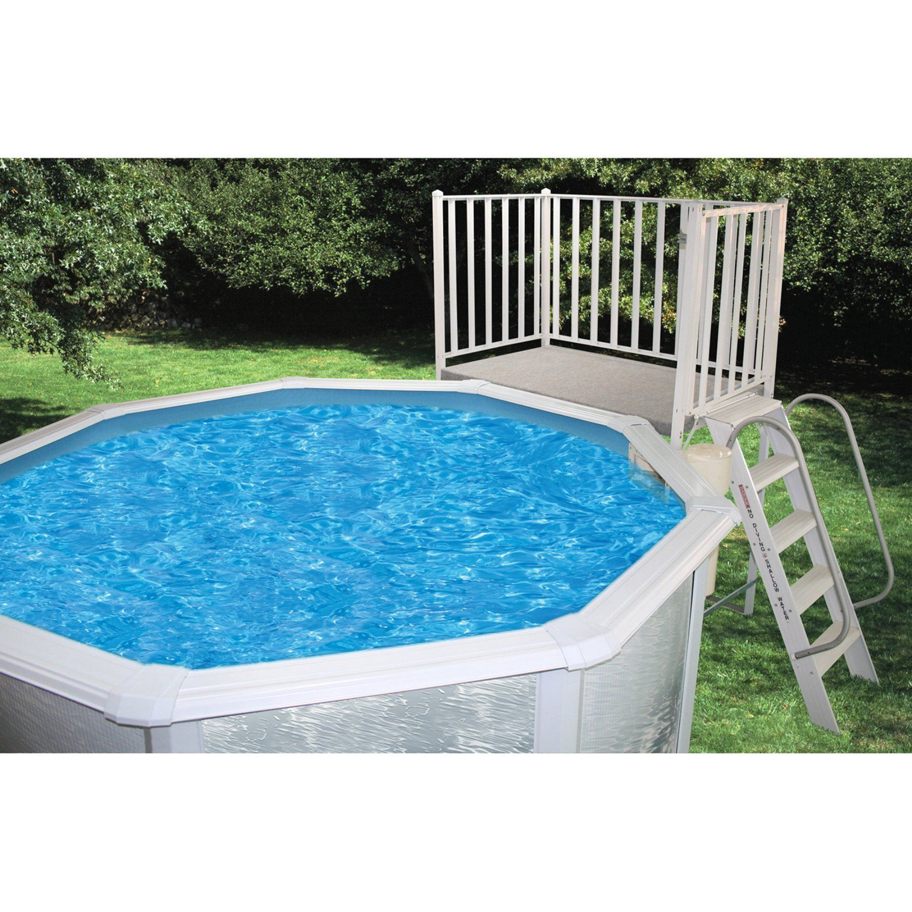 Heritage Aluminum Free Standing Pool Deck Fs 3x5x52 Products throughout proportions 1800 X 1800
