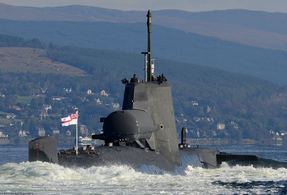 Hms Astute S 119 Attack Submarine Ssn Royal Navy inside dimensions 1200 X 816