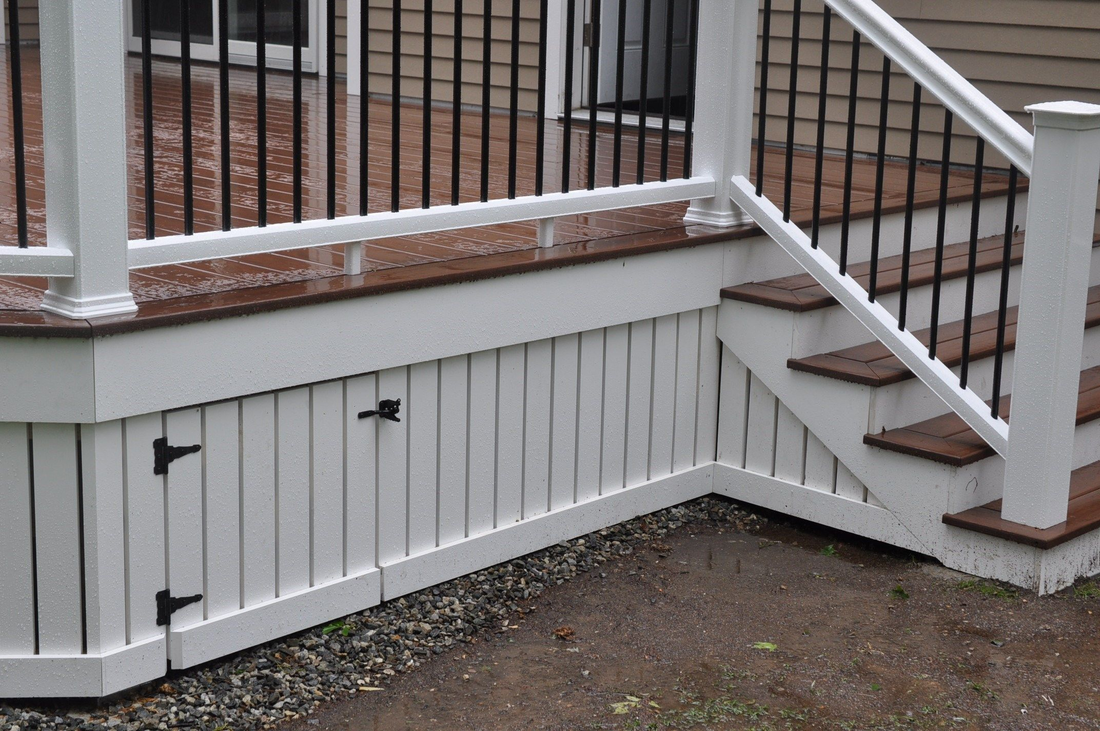 Installing Composite Deck Skirting And Fascia Decks inside proportions 2144 X 1424