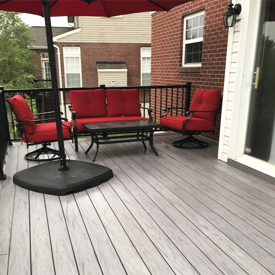 Installing Composite Decking Over Wood On Existing Deck Can I with regard to measurements 960 X 960