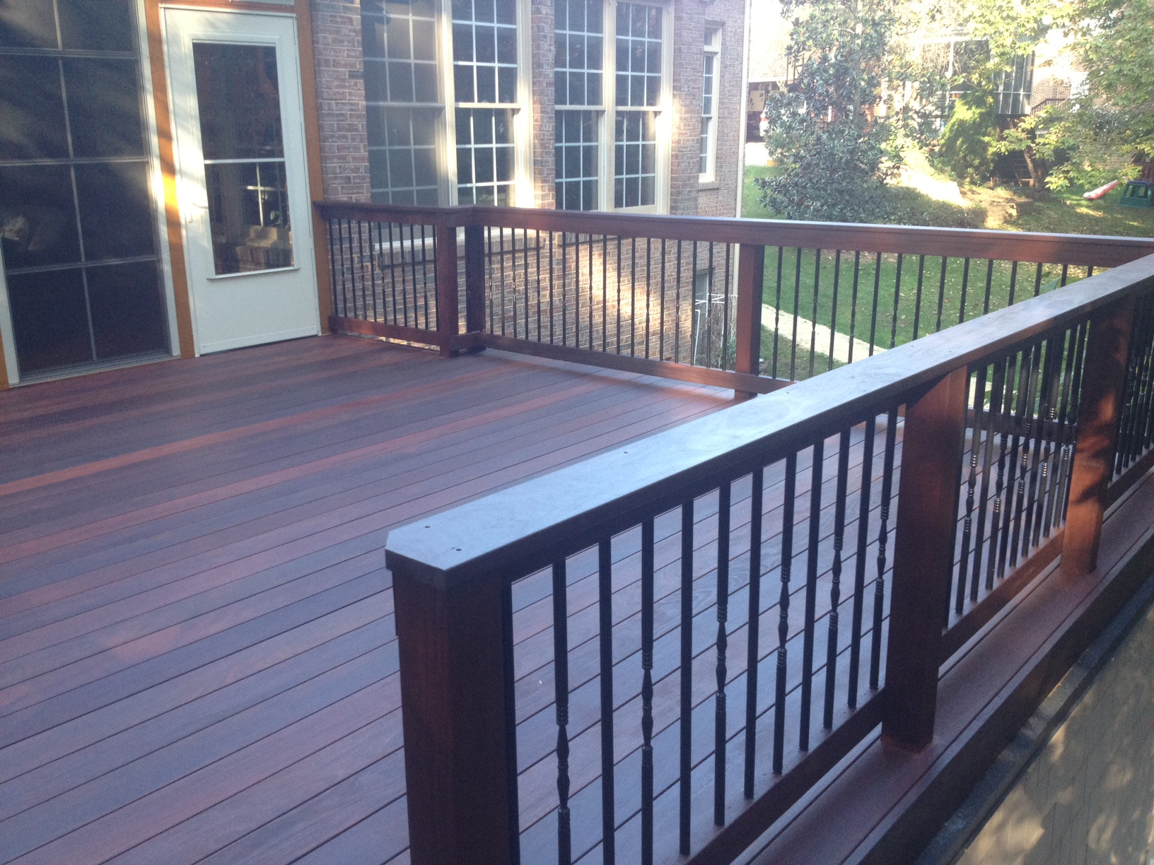 Ipe Brazilian Hardwood Decking Is Becoming Popular For Lake Wylie intended for sizing 1632 X 1224