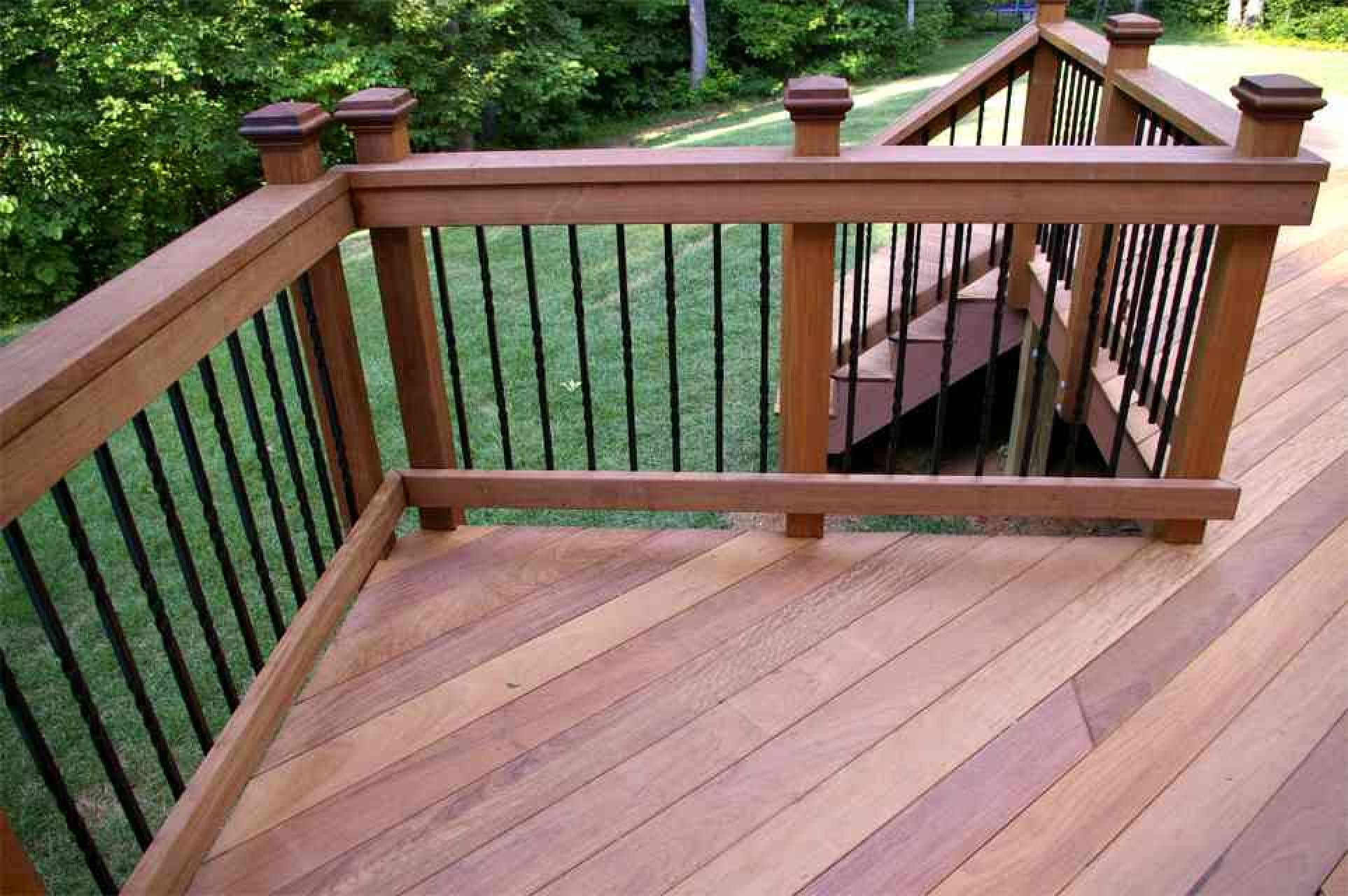 Iron Wood Decking Maintenance with regard to proportions 1926 X 1280