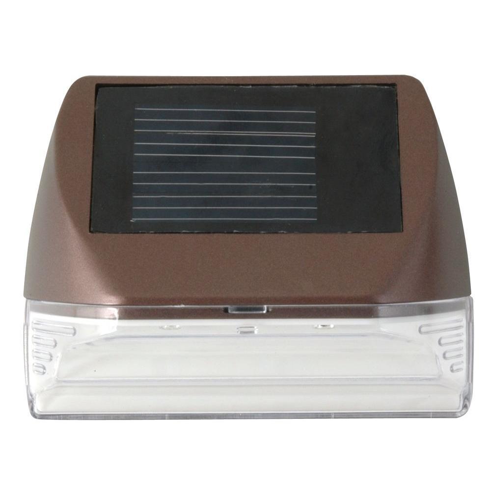 Moonrays Solar Bronze Integrated Led Mini Deck Light 95028 The inside size 1000 X 1000