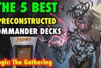 Mtg The 5 Best Preconstructed Commander Decks For Magic The regarding measurements 1280 X 720