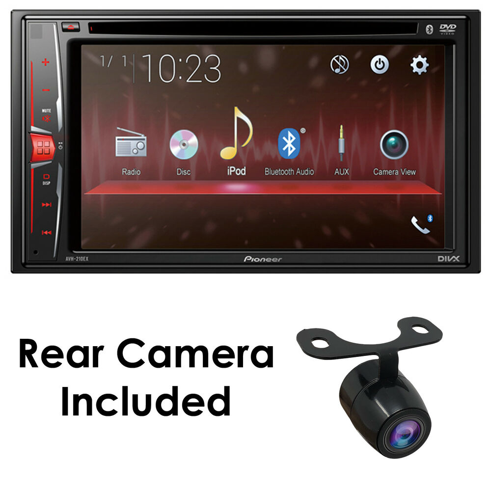 New Pioneer Avh 210ex 62 Double Din Touchscreen Car Stereo Dvd within size 1000 X 1000