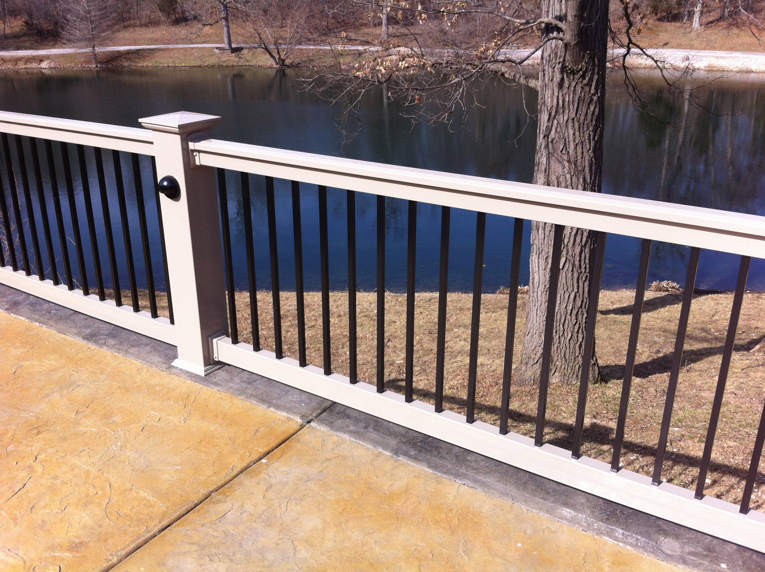 Outdoors Appealing Outdoor Design With Deck Spindle Spacing regarding sizing 2592 X 1936
