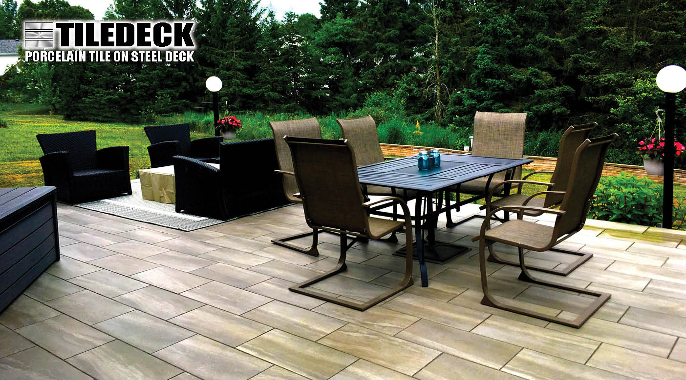 Paverdeck Tiledeck Lifetime Maintenance Free Decks Decking within proportions 1404 X 779