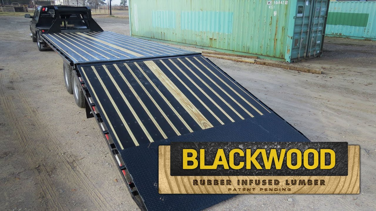 Pj Trailers Blackwood Rubber Infused Lumber for sizing 1280 X 720