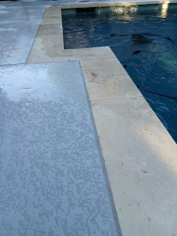 Pool Deck Seal Bridging The Gap Between Good Or Bad Looking Decks for dimensions 1080 X 1440