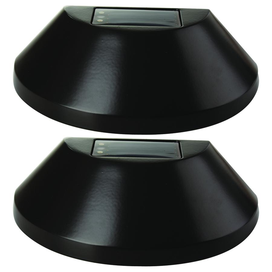 Portfolio 2 Pack 4x Brighter 48 Lumen Oil Brushed Bronze Solar inside proportions 900 X 900