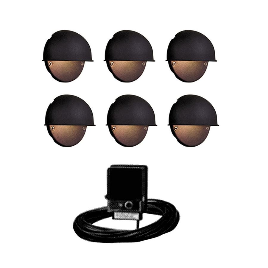 Portfolio Black Low Voltage Incandescent Railing Deck Light Kit At intended for measurements 900 X 900
