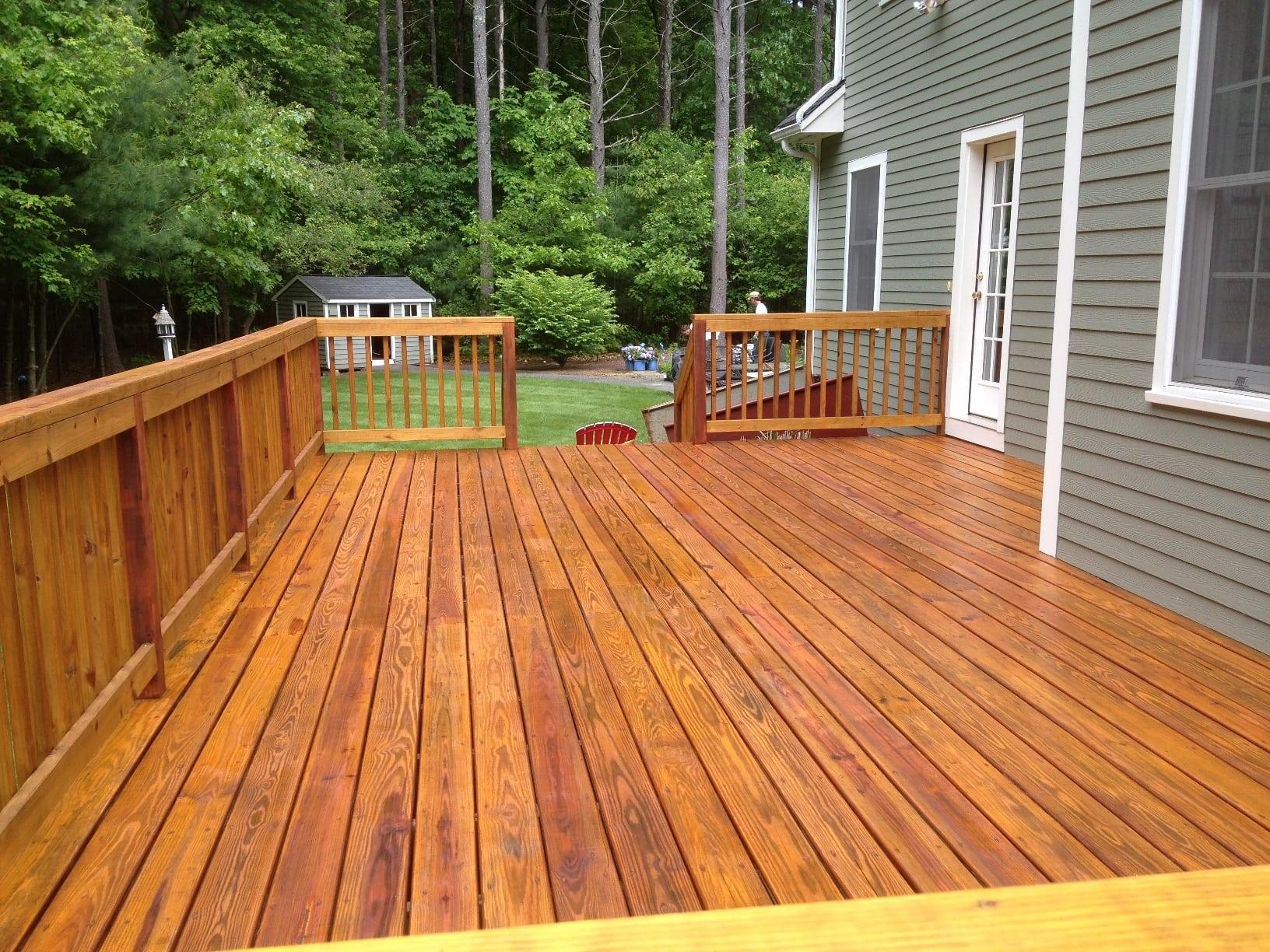 Premium Deck Restoration Staining Refinishing Seacoast Nh in measurements 1632 X 1224