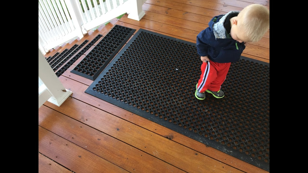 Prevent Slips And Falls On Icy Or Wet Steps And Decks Without Salt with size 1280 X 720