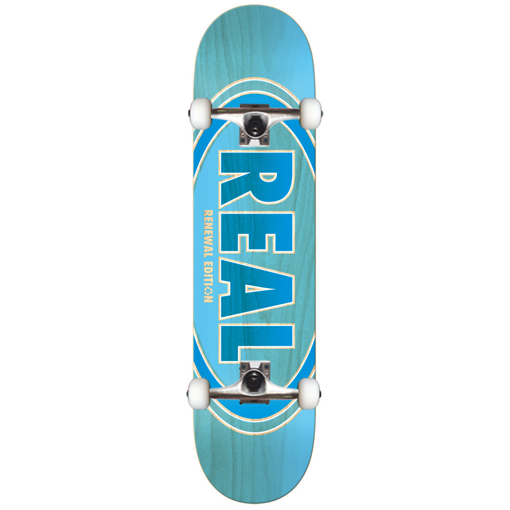 Real Duofade Oval 85 Skateboard Thunder Trucks Spitfire Wheels regarding dimensions 1000 X 1000