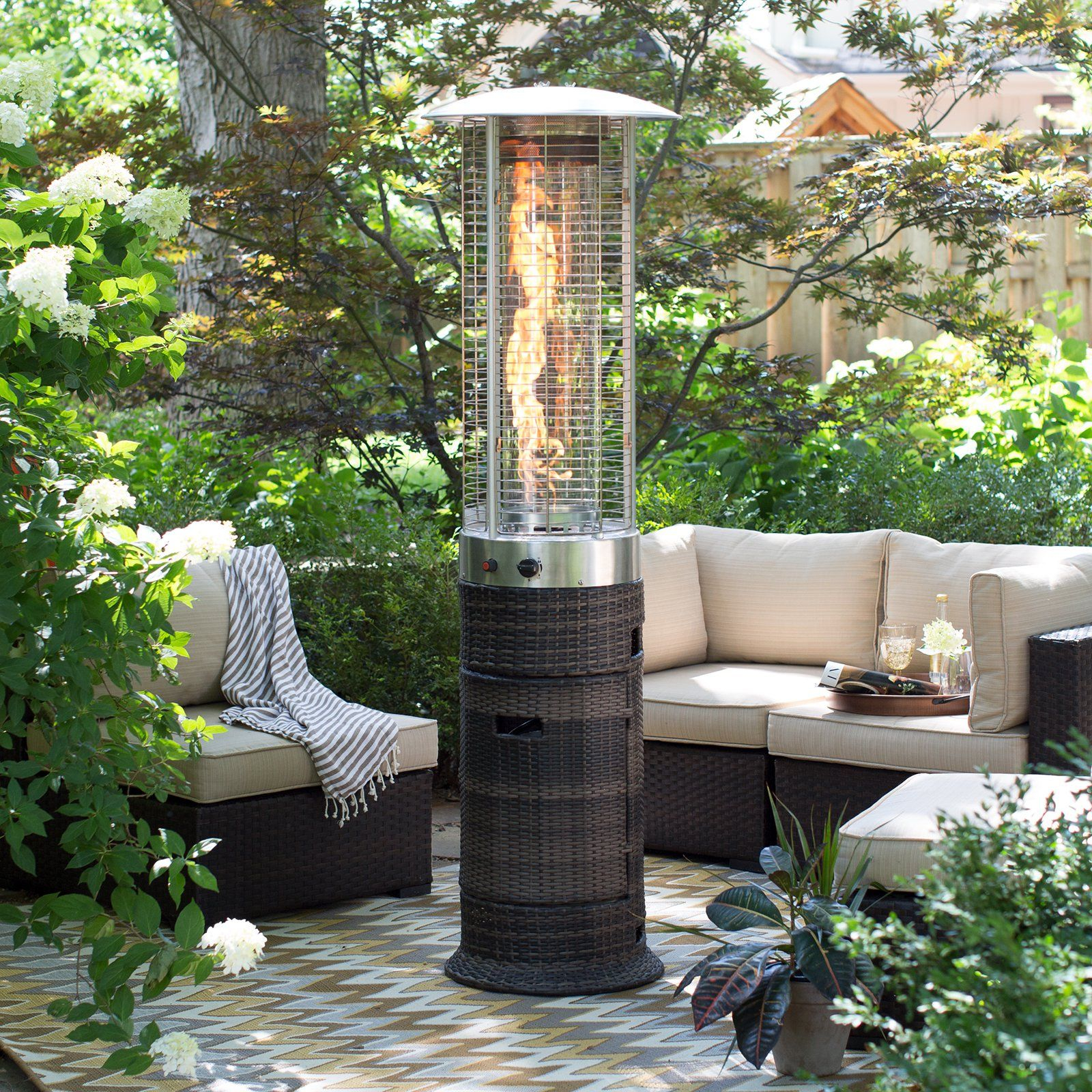 Red Ember Wicker Patio Heater 68798 Products In 2019 Outdoor intended for size 1600 X 1600