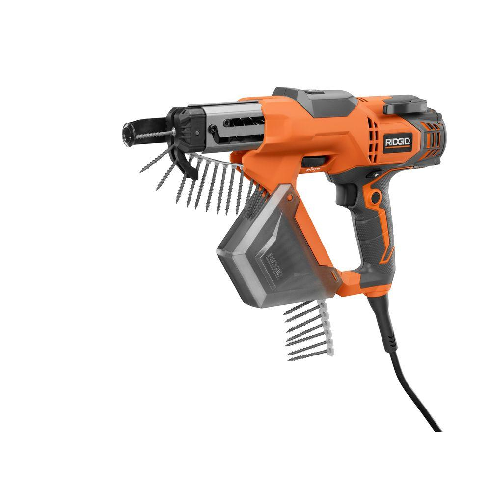 Ridgid 3 In Drywall And Deck Collated Screwdriver R6791 The Home pertaining to sizing 1000 X 1000
