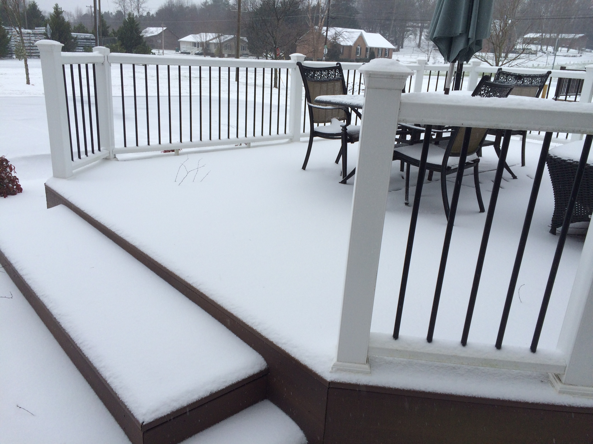 Snow And Ice Removal On Composite Decks Deck Talk for proportions 2048 X 1536