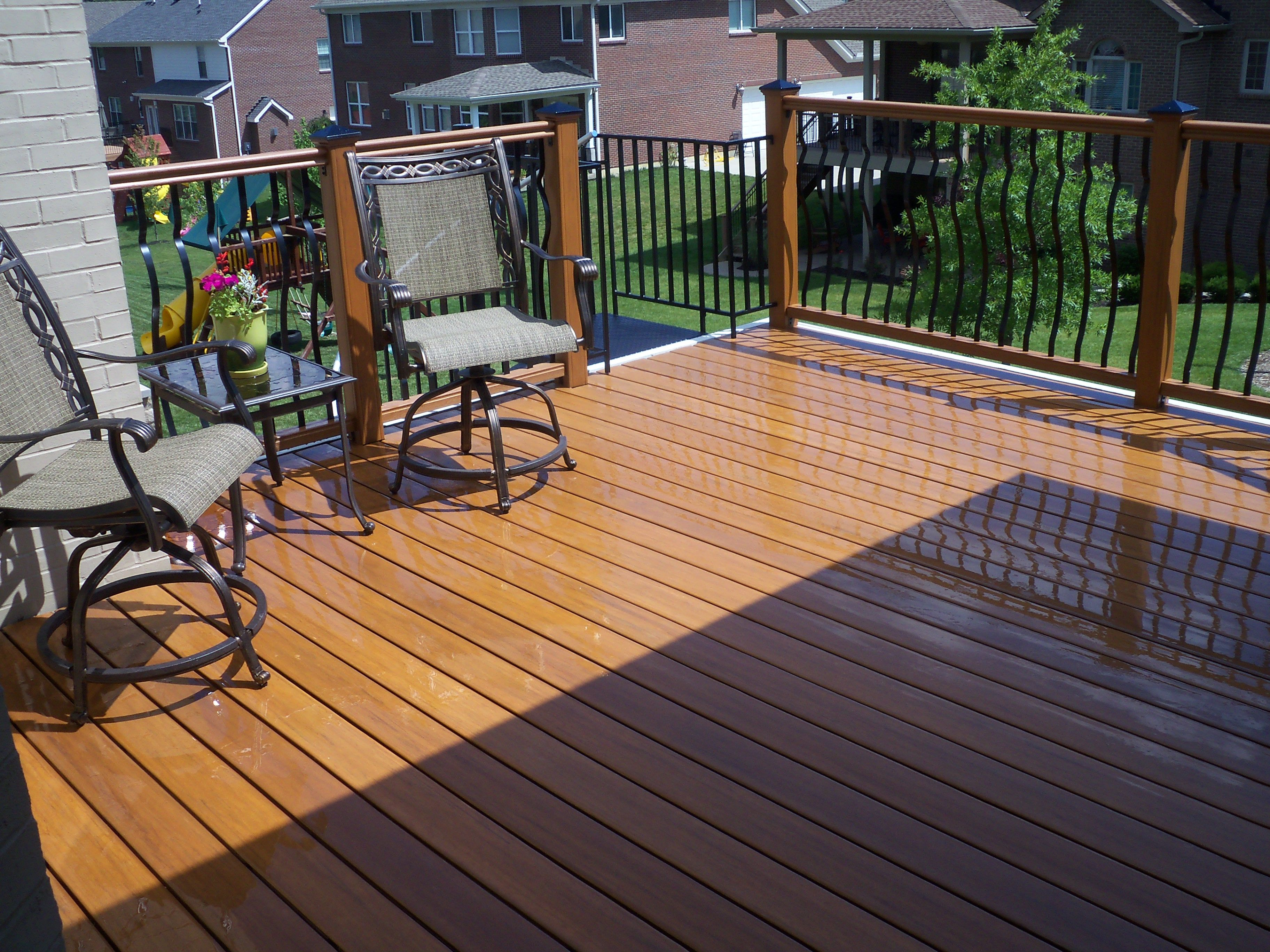 This Is Eon Decking Which Is No Longer Available Custom Porch with proportions 3648 X 2736