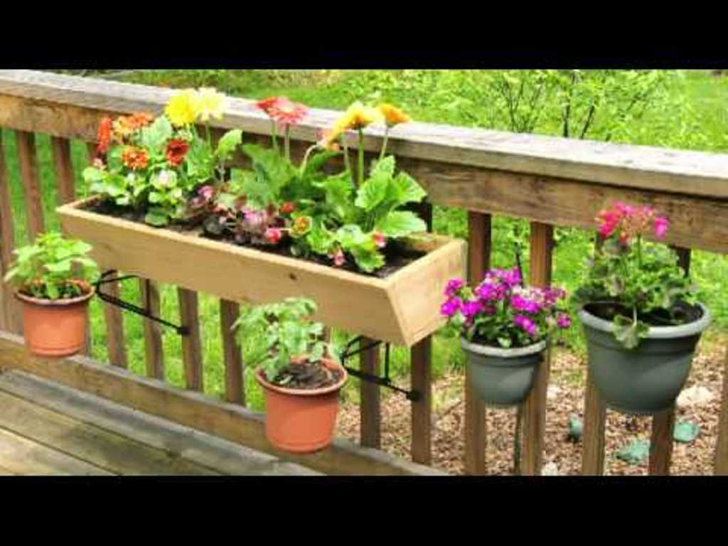 Tips Ideas Interesting Railing Planter For Your Deck Railing with measurements 1024 X 768