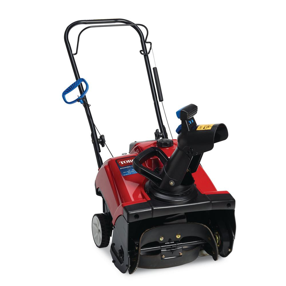 Toro Power Clear 518 Zr 18 In 99cc Single Stage Gas Snow Blower throughout proportions 1000 X 1000