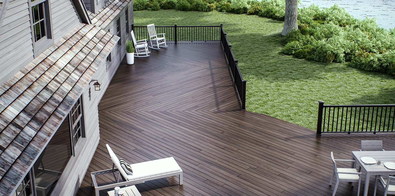 Veranda Composite Decking And Composite Railing within dimensions 1500 X 745