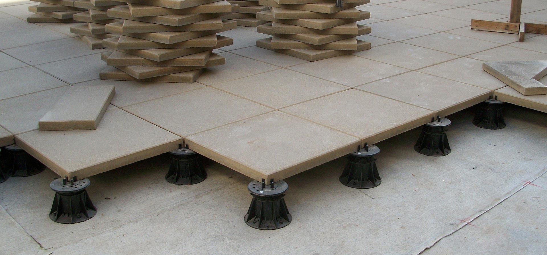 Versijack Deck Paver Pedestal System Tournesol Siteworks Llc within sizing 1920 X 895