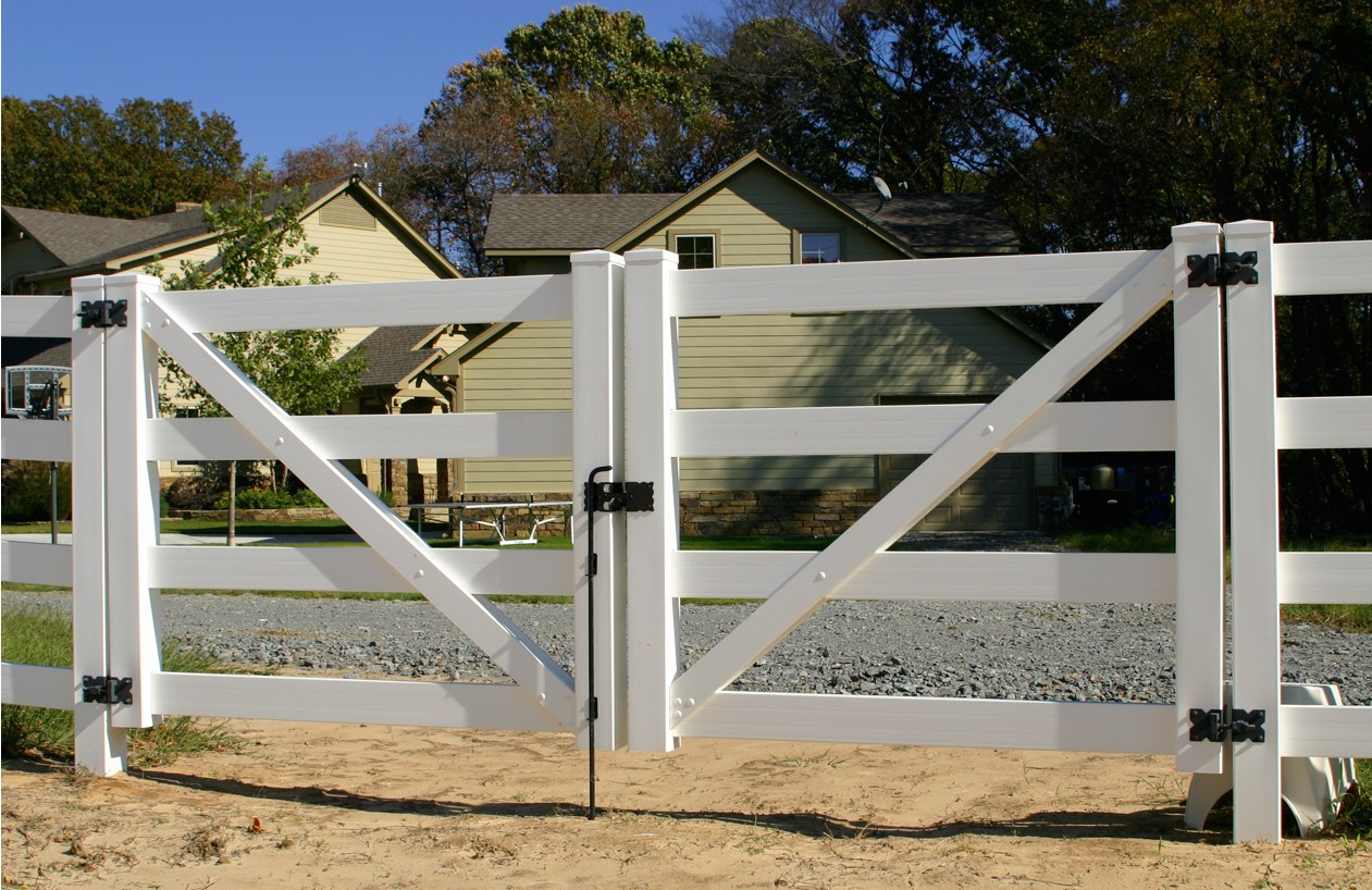 Vinyl Gates Heavy Duty Vinyl Fence Gates Walk Gates Drive Gates for size 1261 X 818