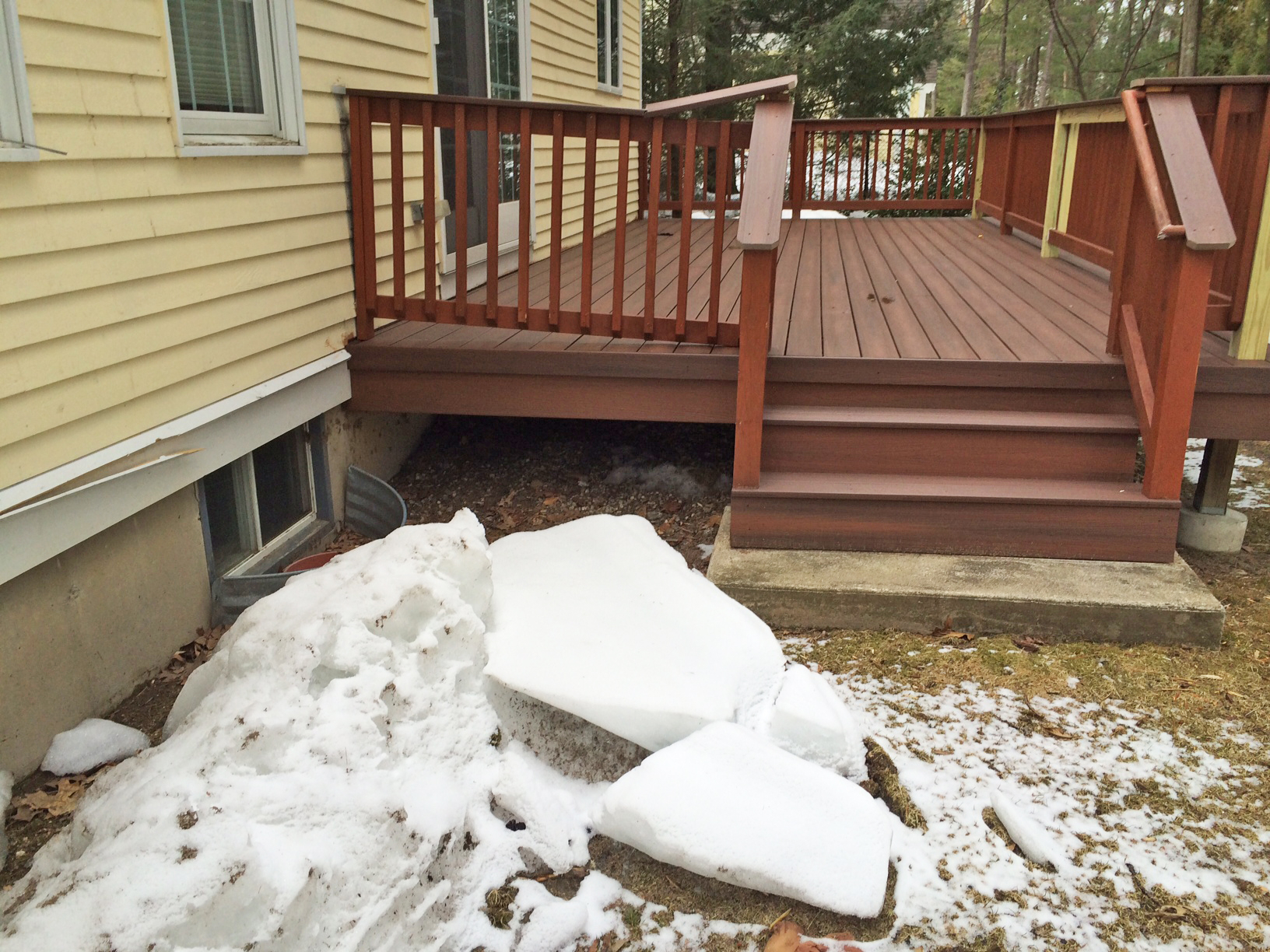 Will Snow Damage My Deck This Winter Tips For Clearing Snow From for dimensions 1632 X 1224
