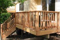 Wood Deck Railing Design Deck Deck Railing Design Wood Deck pertaining to sizing 1256 X 834