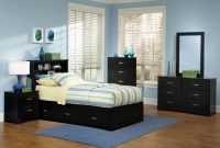 115 Kith Jacob Twin Black Storage Bedroom Set pertaining to measurements 2050 X 1614