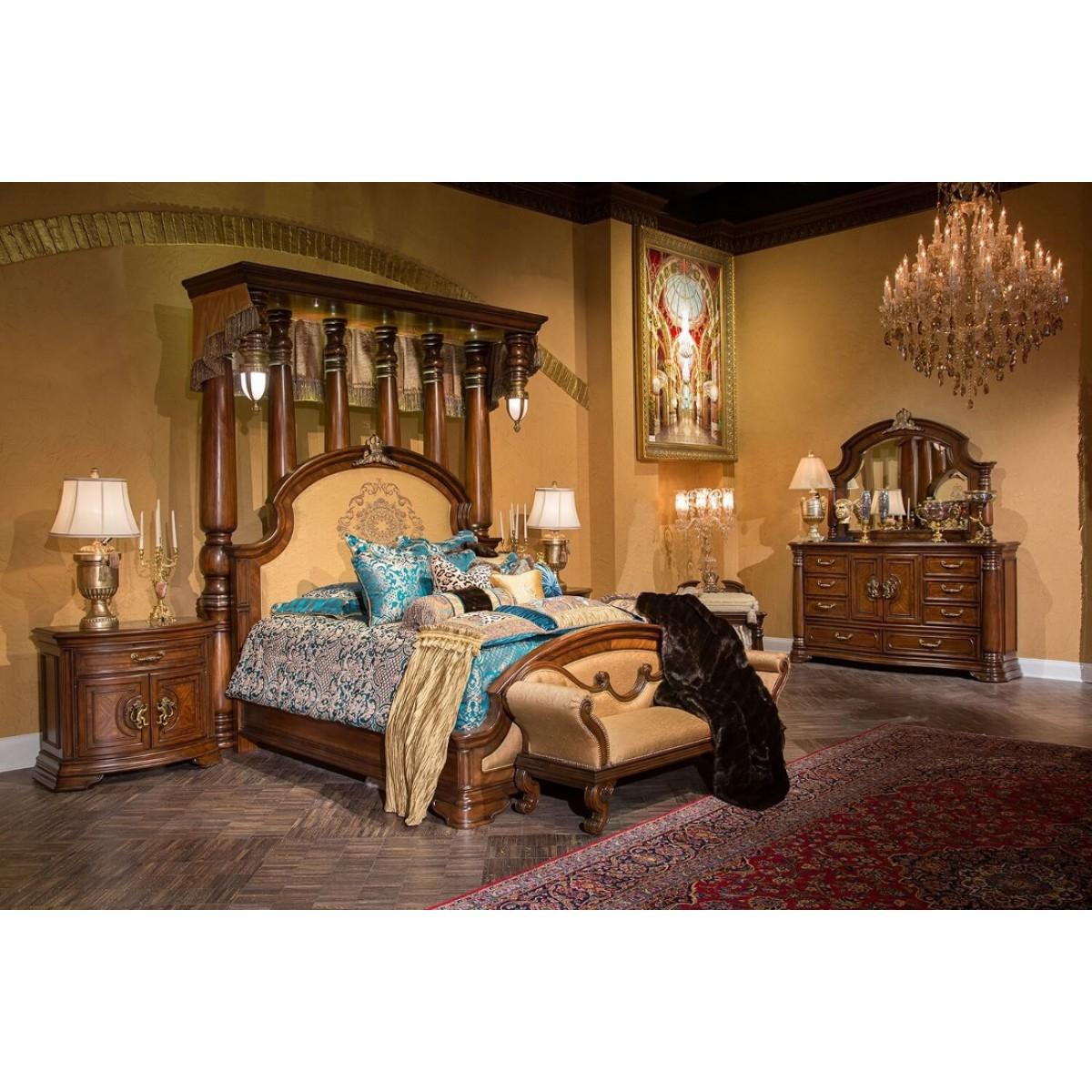 Aico Michael Amini Bedroom Set • Bulbs Ideas