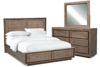Charming Queen Storage Bedroom Set Black Bed Ashfield Furniture Home throughout sizing 1500 X 1100