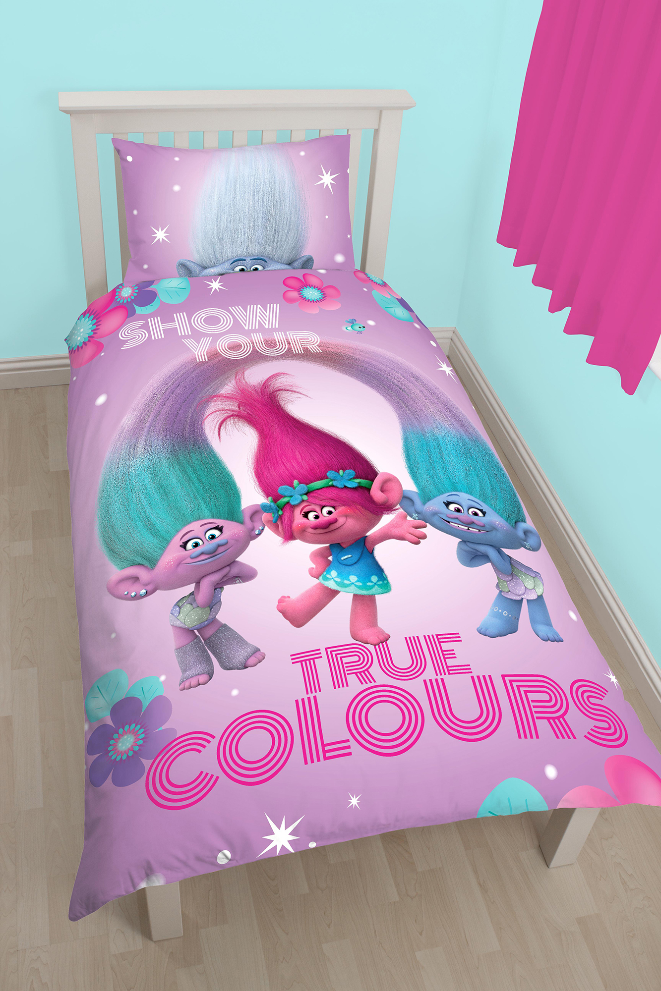 trolls bedroom set • bulbs ideas