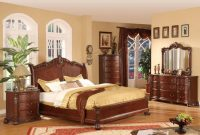 Lifestyle Furniture 9642 Cherry King Bedroom Set High Point for sizing 1280 X 825