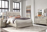 Mirror Champagne Bedroom Set intended for measurements 2604 X 1570