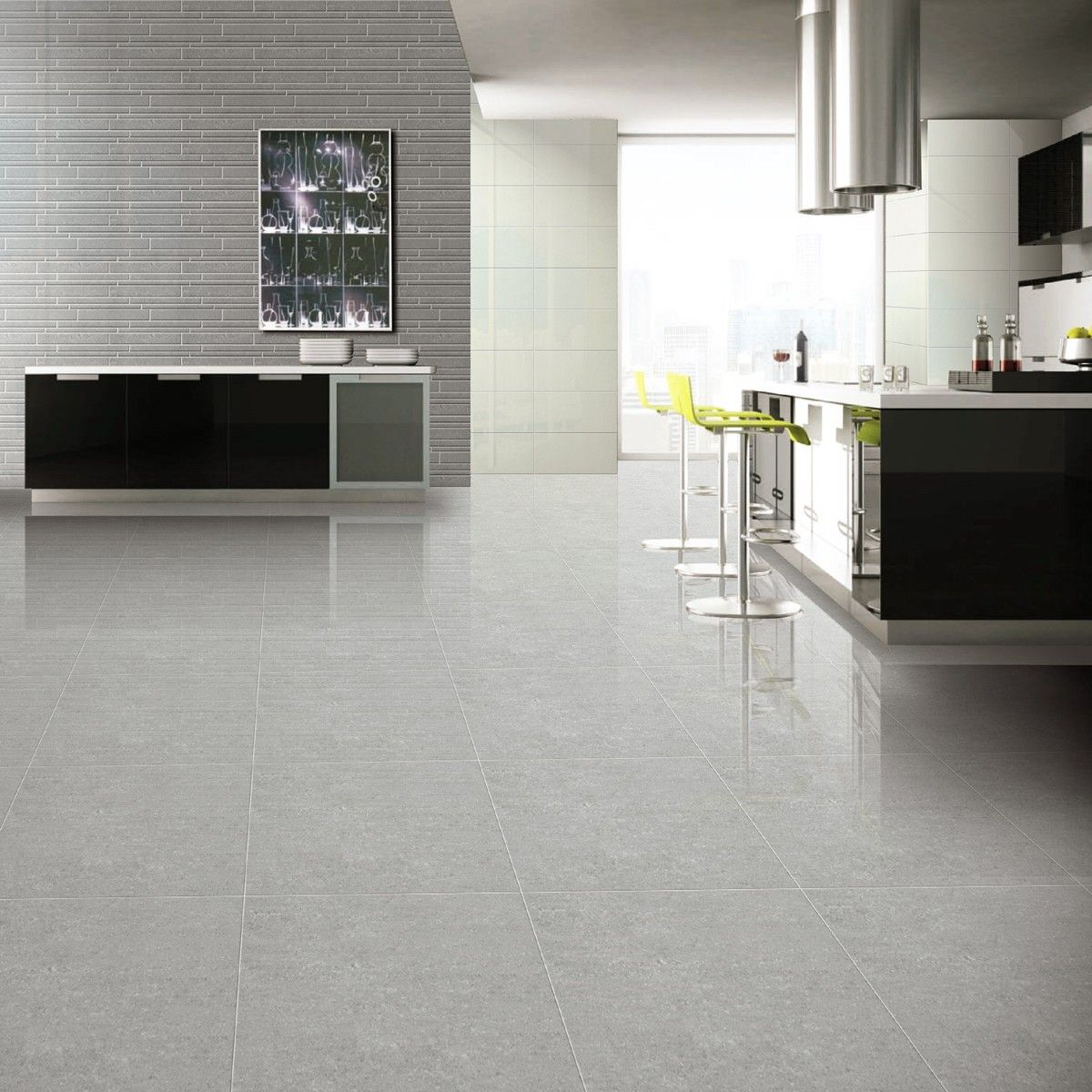 60x60 Super Polished Grey Porcelain Floor Tiles Tile within sizing 1200 X 1200