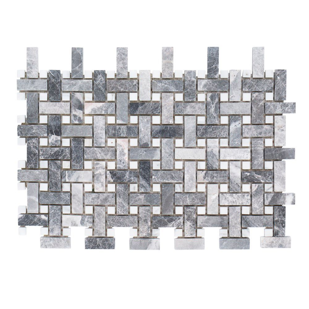 9125x115 Charleston Hills 8mm Marble Mosaic Products with regard to measurements 1000 X 999