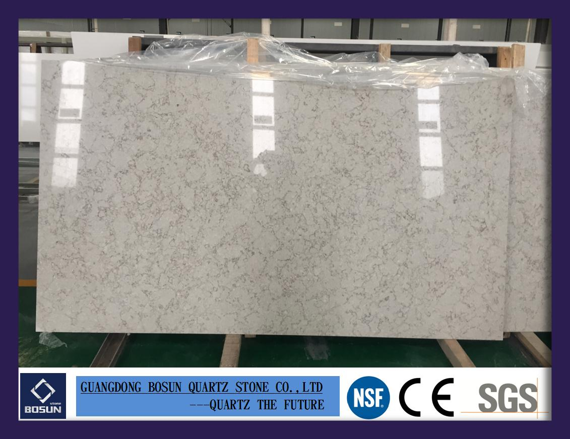 Artificial Quartz Stone Bs3301 Solid Surfaces Polished Slabs with measurements 1131 X 872