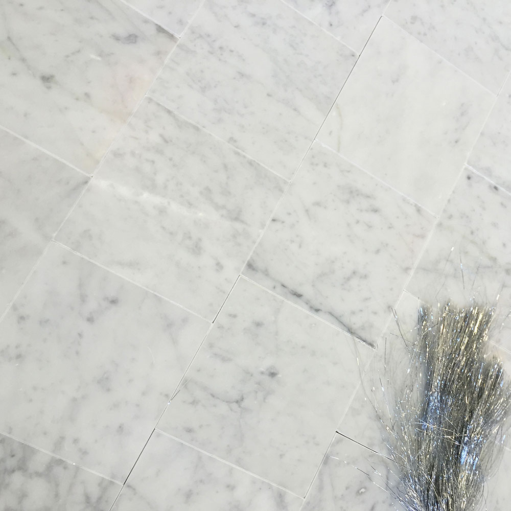 Bianco Carrara 6x6 Marble Tile regarding measurements 1000 X 1000