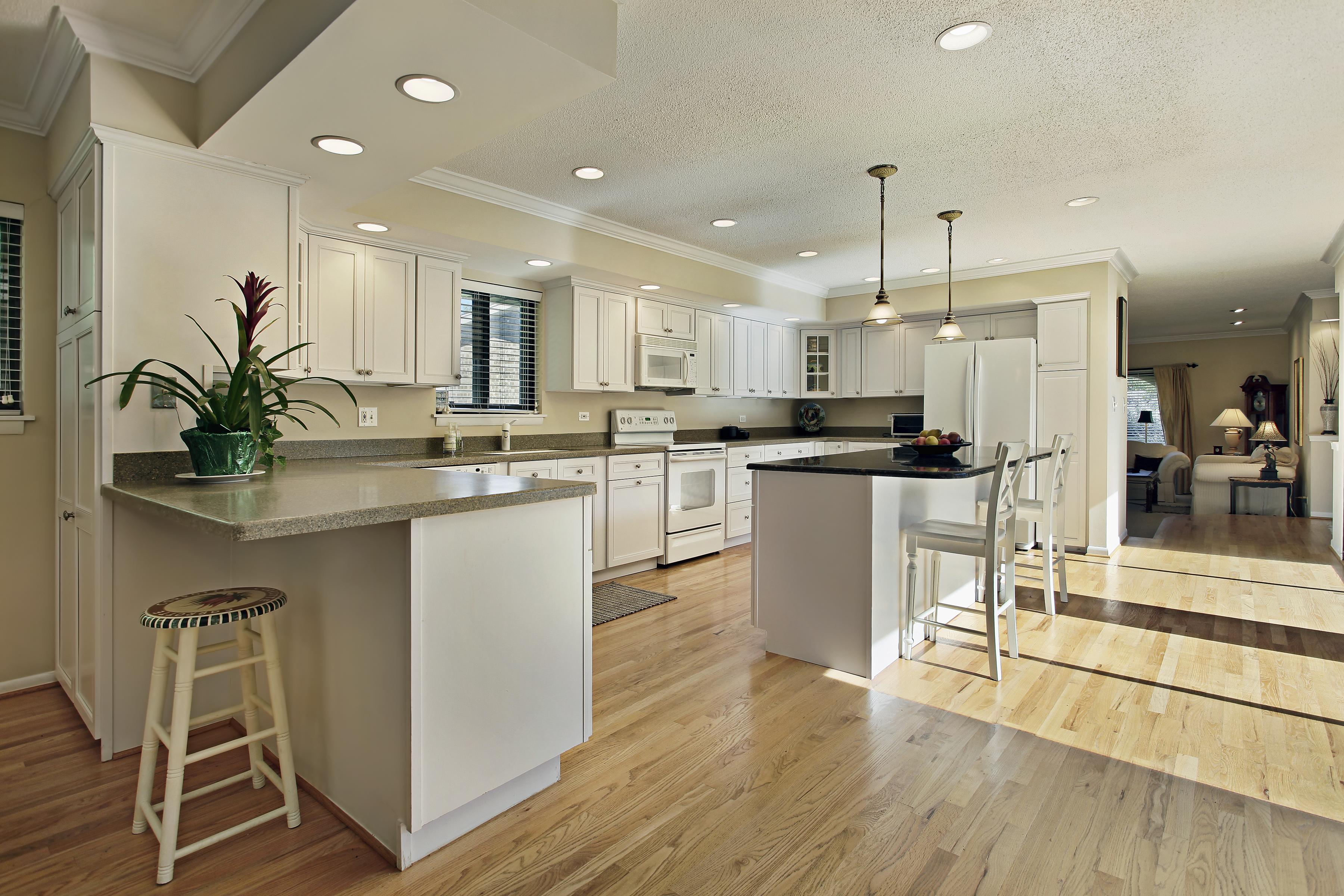 Brilliant Wood Floor In Kitchen 25 With Hardwood Wooden Pro with regard to measurements 3600 X 2400