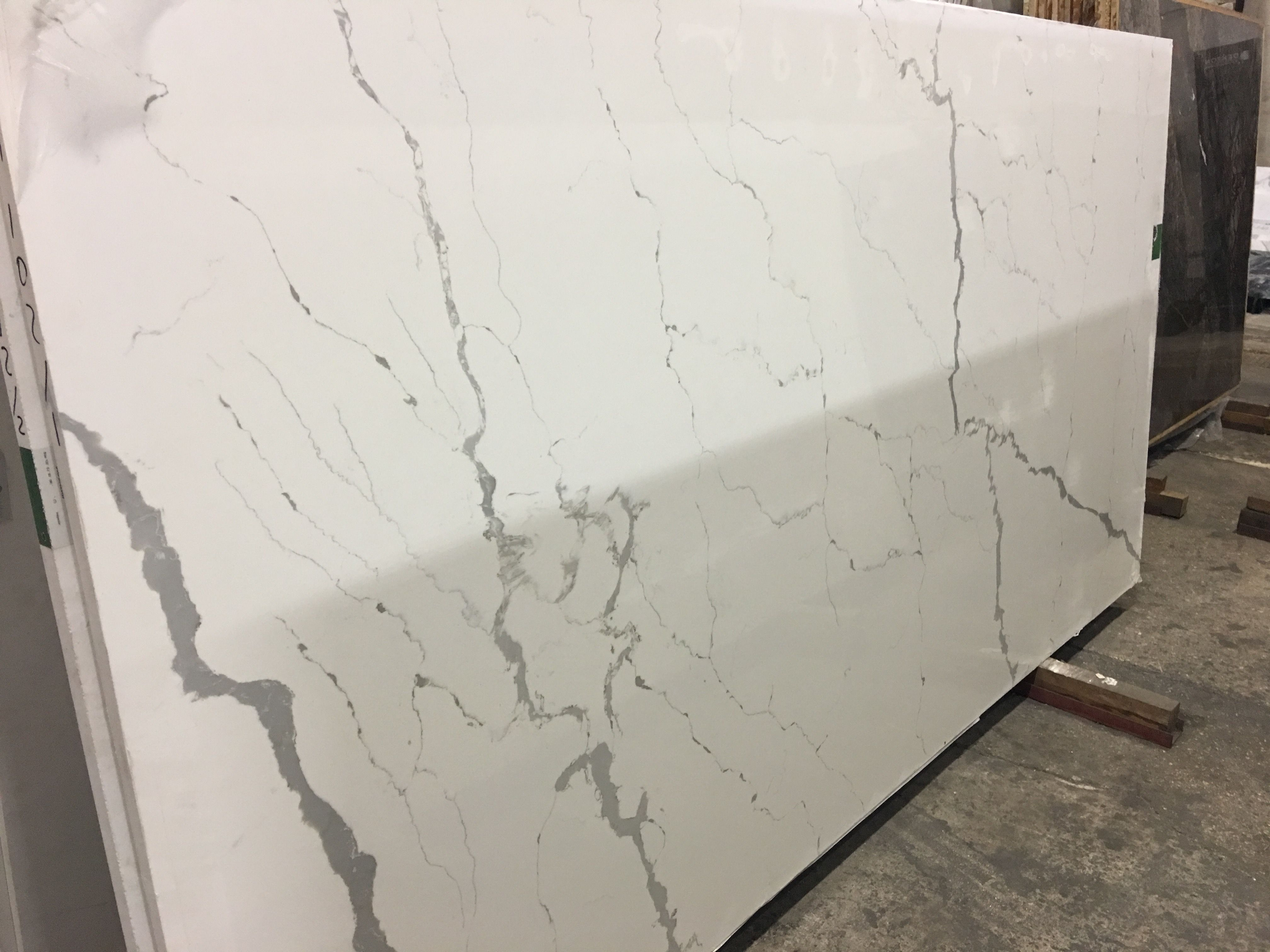 Calacatta Lincoln In 2019 Stone Tiles Quartz Slab throughout proportions 4032 X 3024