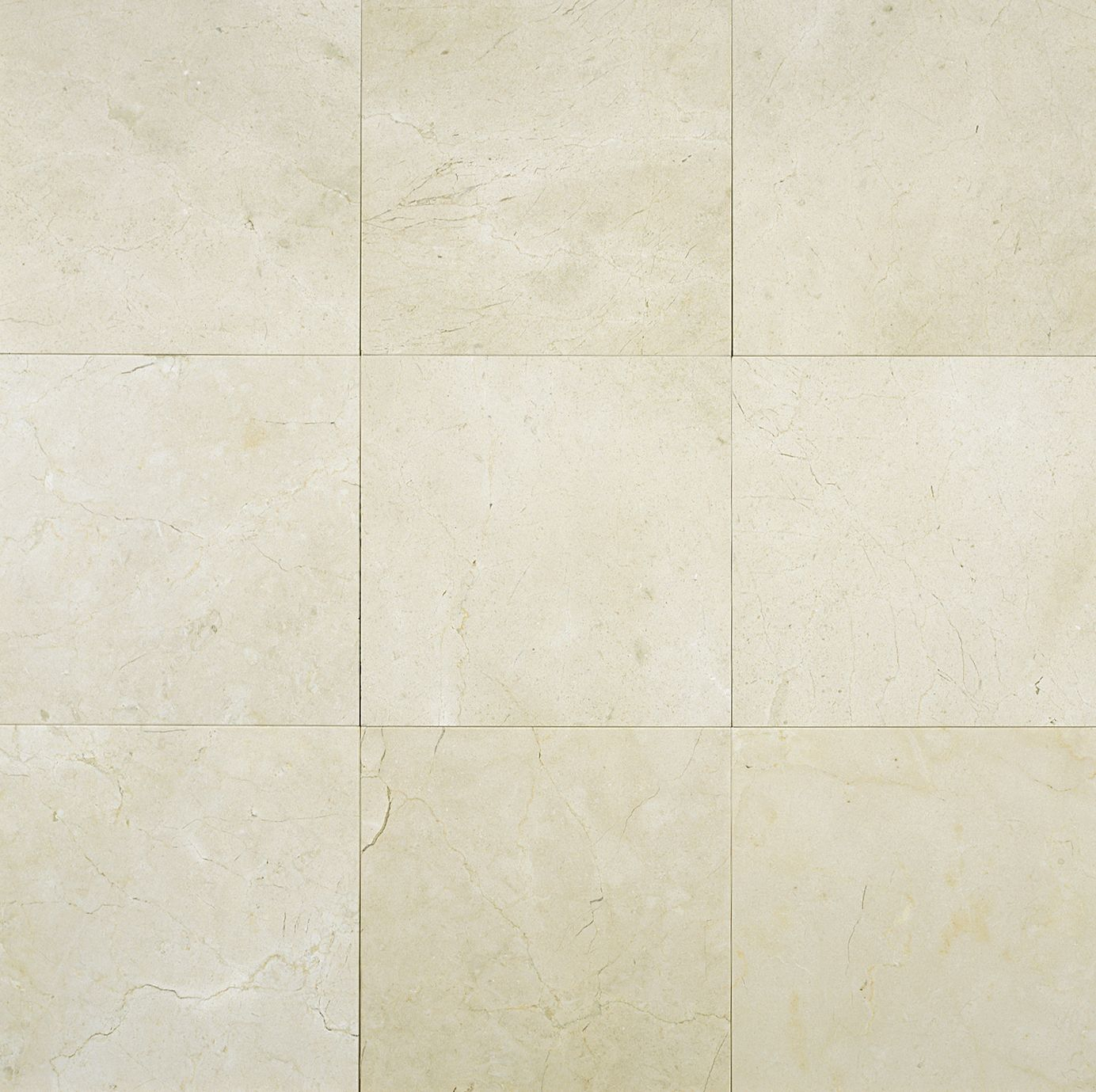 Crema Marfil Classico 6x6 Marble Tile Polished Enchapes within size 1384 X 1379