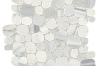 Daltile Stone Decor Shadow 12 In X 12 In X 10 Mm Marble Pebble Mosaic Floor And Wall Tile 095 Sq Ft Piece pertaining to dimensions 1000 X 1000