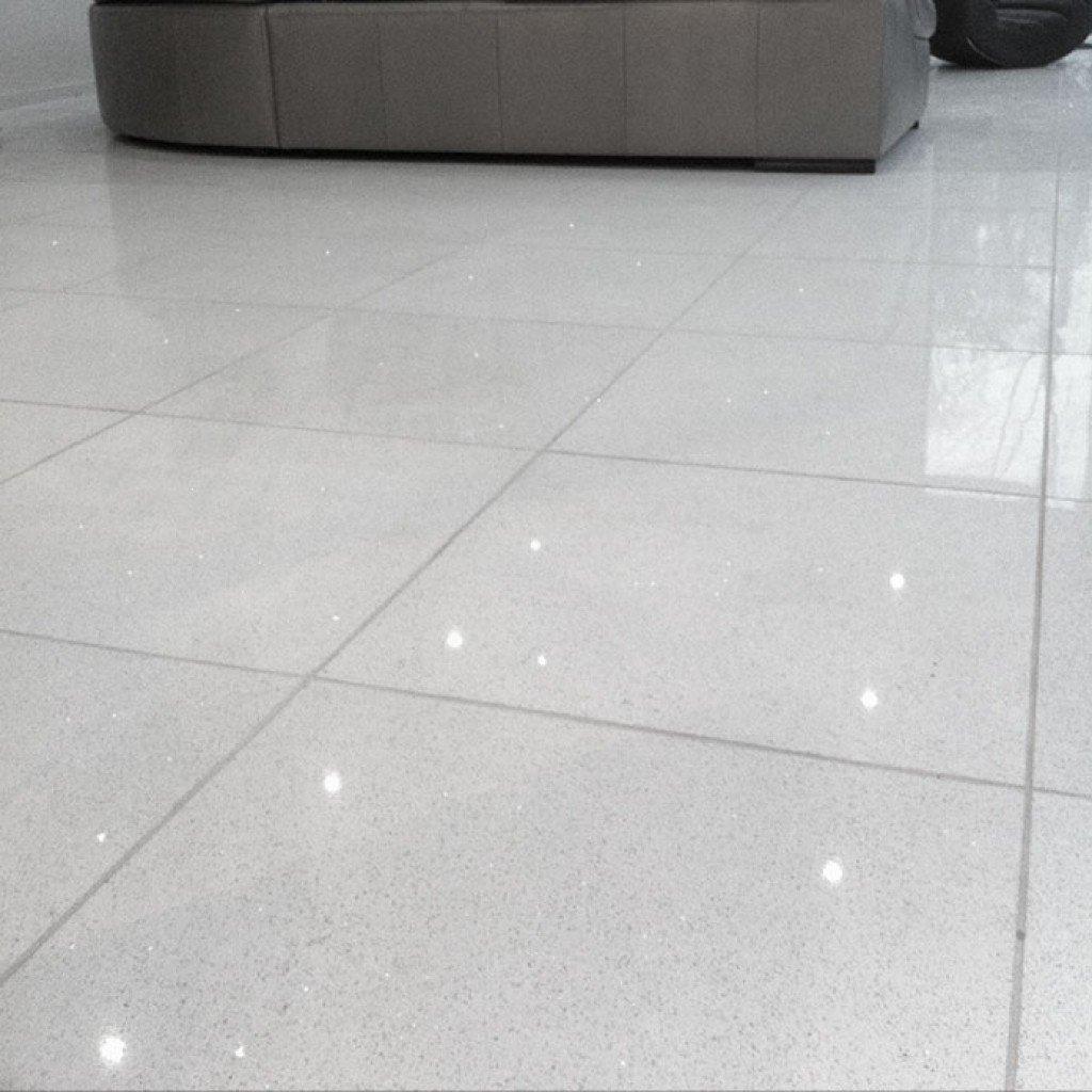 Luxury Starlight Quartz White Floor Tiles Ceramic Tile for proportions 1024 X 1024
