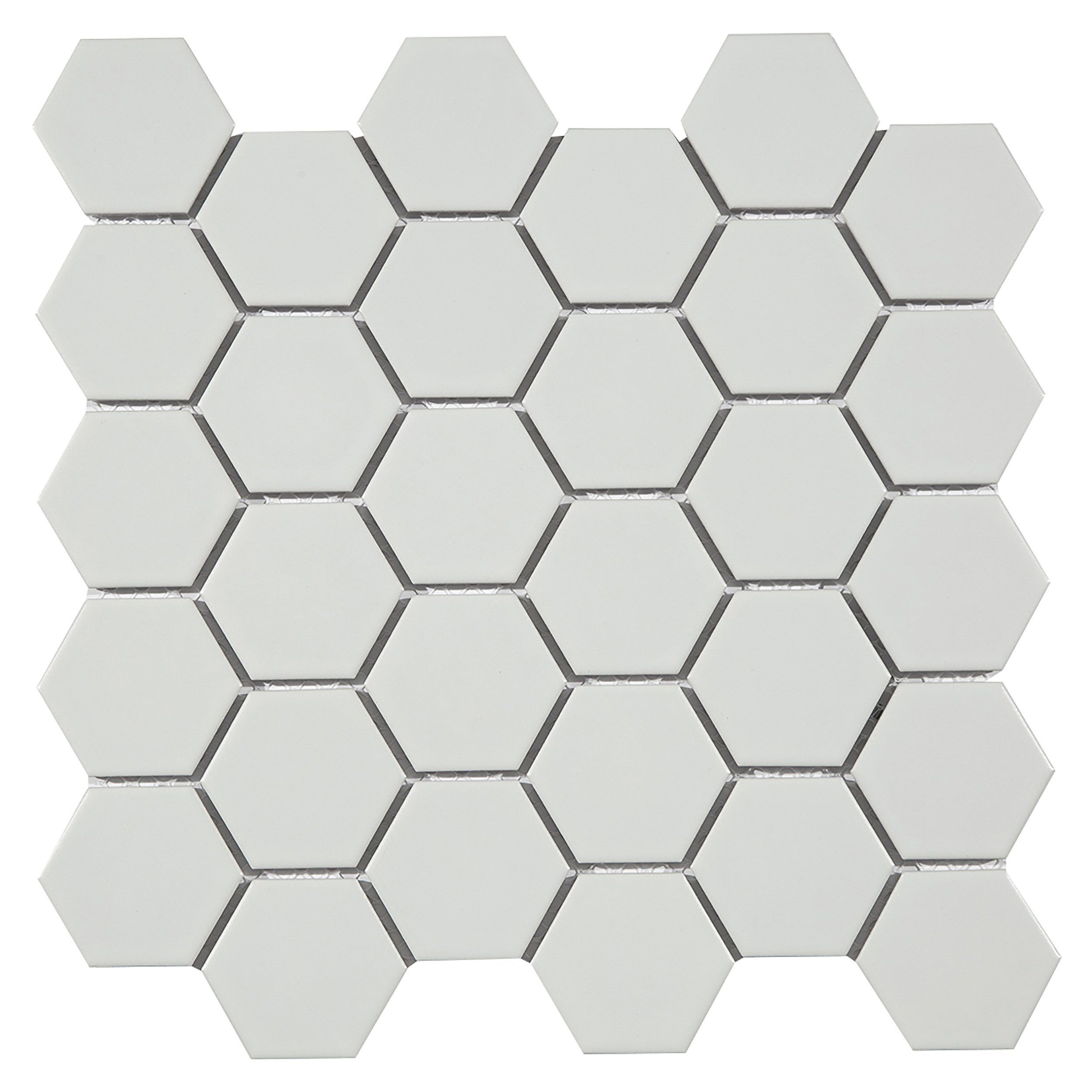 Metro Taupe Matte Hexagon Porcelain Mosaic In 2019 Kitchen with regard to proportions 2500 X 2500