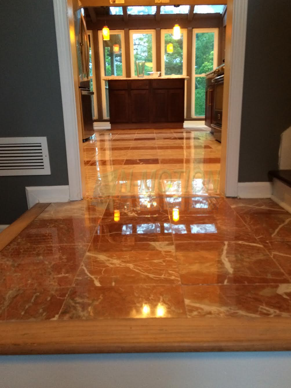 Portfolio Dull Damaged Marble Floor Restored Atlanta Ga inside proportions 1004 X 1339