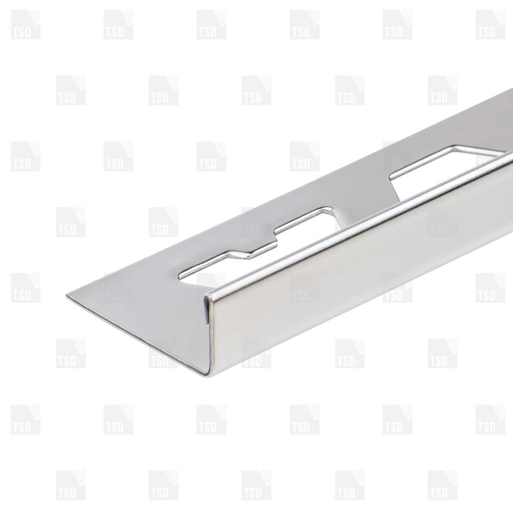 Stainless Steel Square Edge Tile Trim with dimensions 1000 X 1000